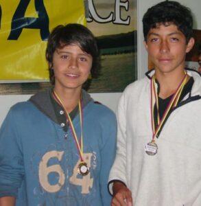 Campeones Julian y Diego