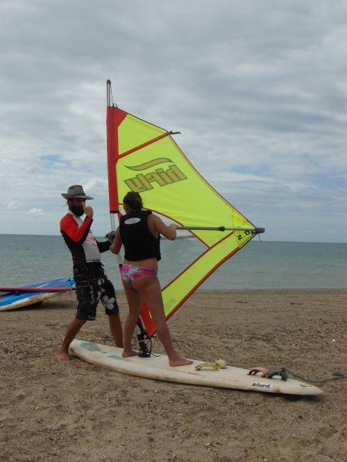 Windsurf principiantes