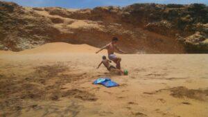 Camp de playa