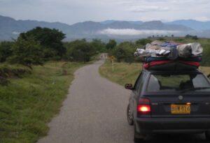 Camino a Betania a navegar