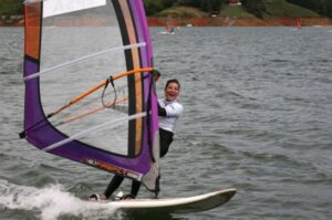 Navegar en lago Gabriela