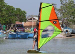 Camarones for beginners windsurf