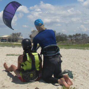 kiteboarding lesson Mayapo beach