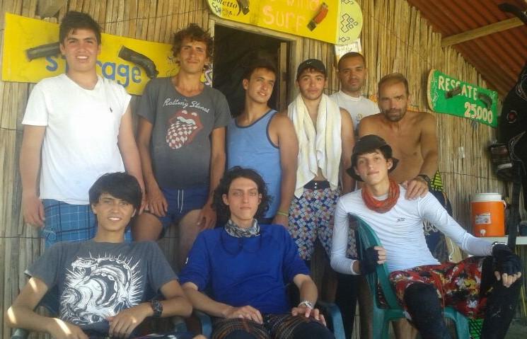 Cabo kite Camp