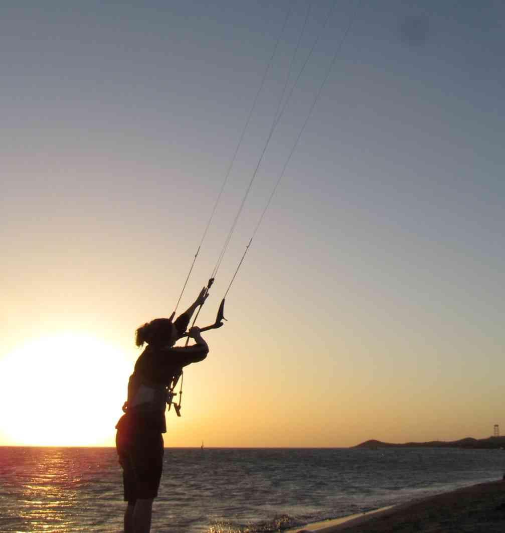 Kite en Cabo de la Vela